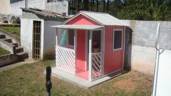 Doll Houses in Garden