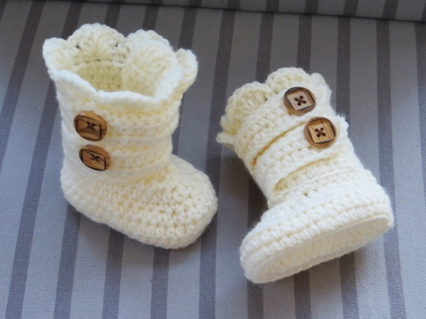 Ideas for Crochet Baby Booties