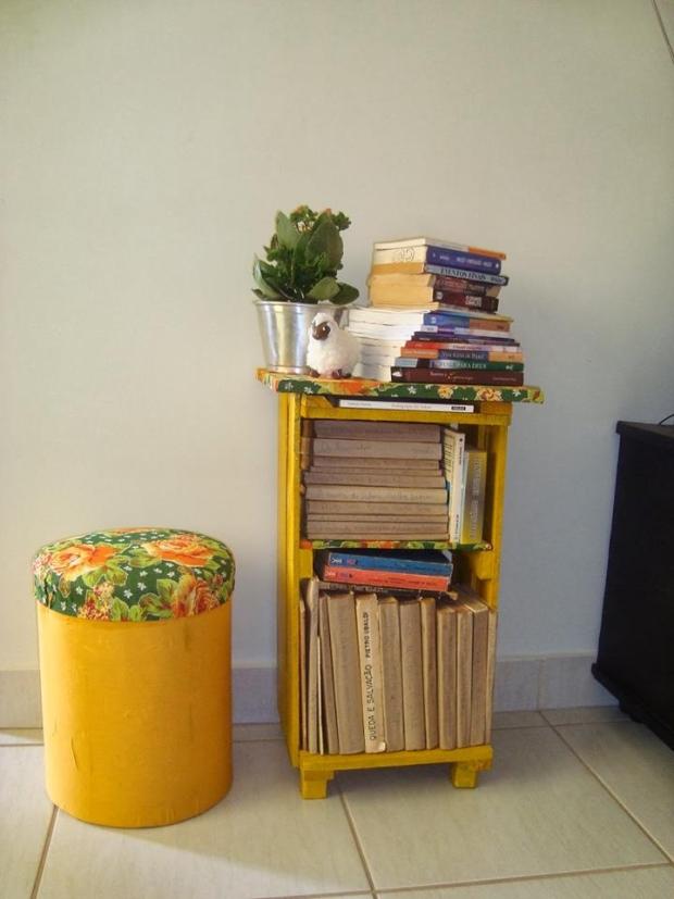Pallet Crates Bookshelves