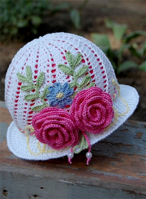 Patterns for Crochet Girl Hats