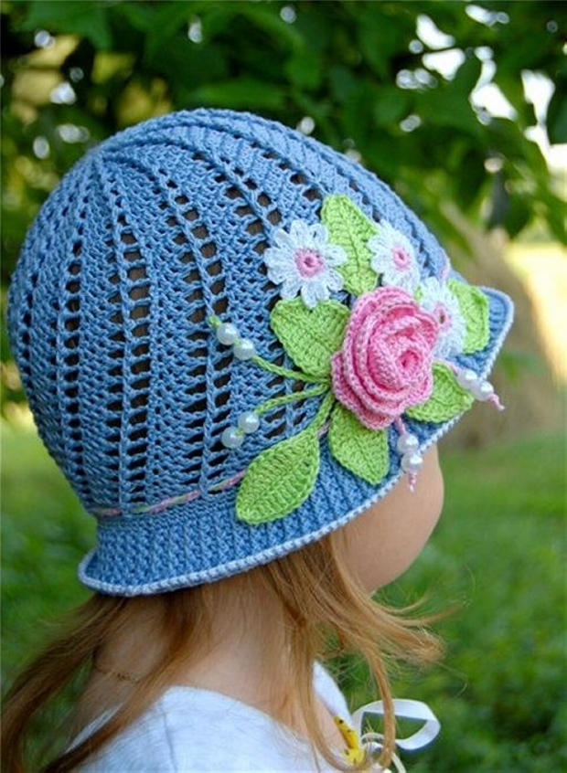 Patterns for Crochet Panama Hats