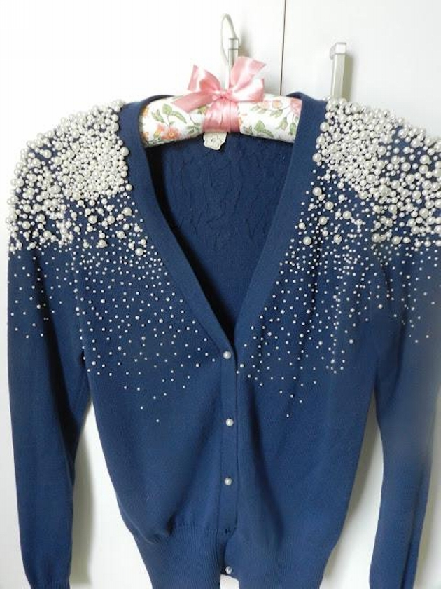 Pearls Decorated Dress