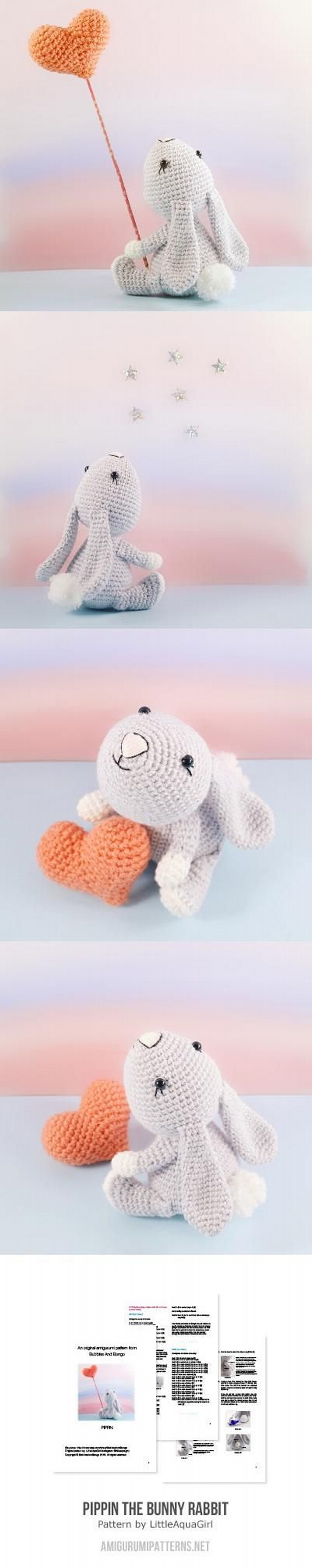 Rabbit Amigurumi Pattern
