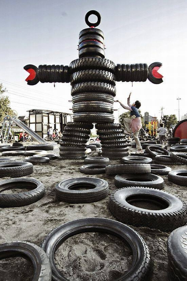 Recycled Used Tyres