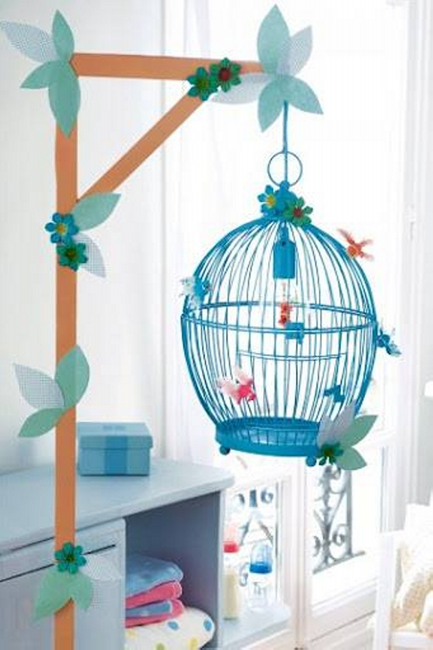 Reused Cage Decoration