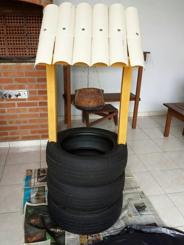 Tyres Art Work