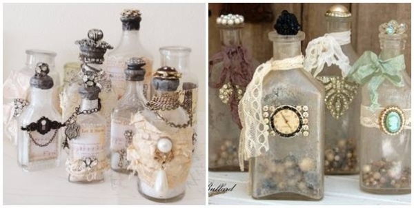 Upcycled Glass Bottles
