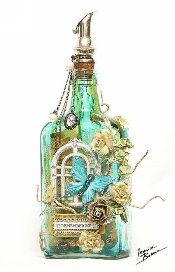 Used Bottles Ornaments