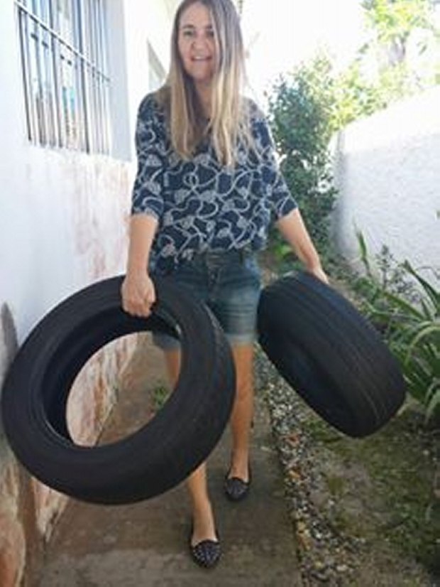 Used Tyres Art Work