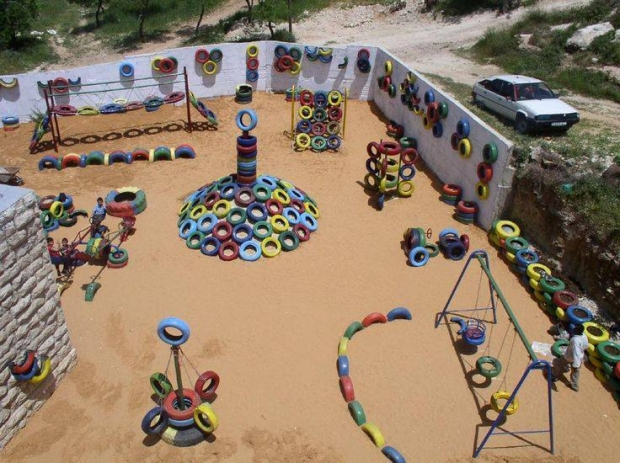 Used Tyres Kids Playland