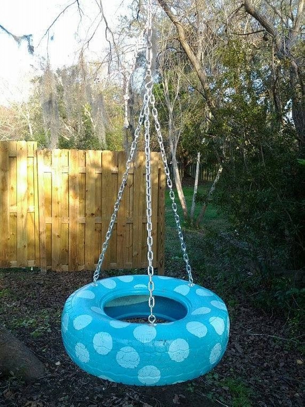 Used Tyres Swing for Kids