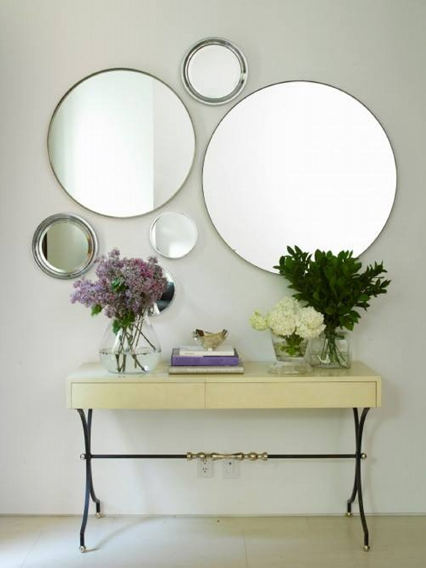 Vintage Decor with Mirror