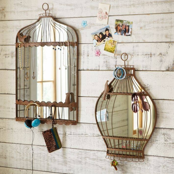Wall Decor Crafts with Mirror