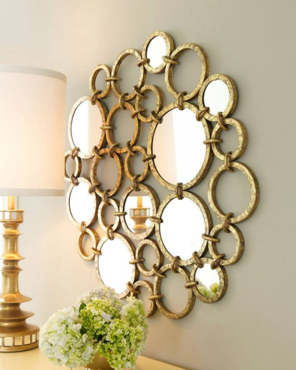 Wall Decor with Mirror