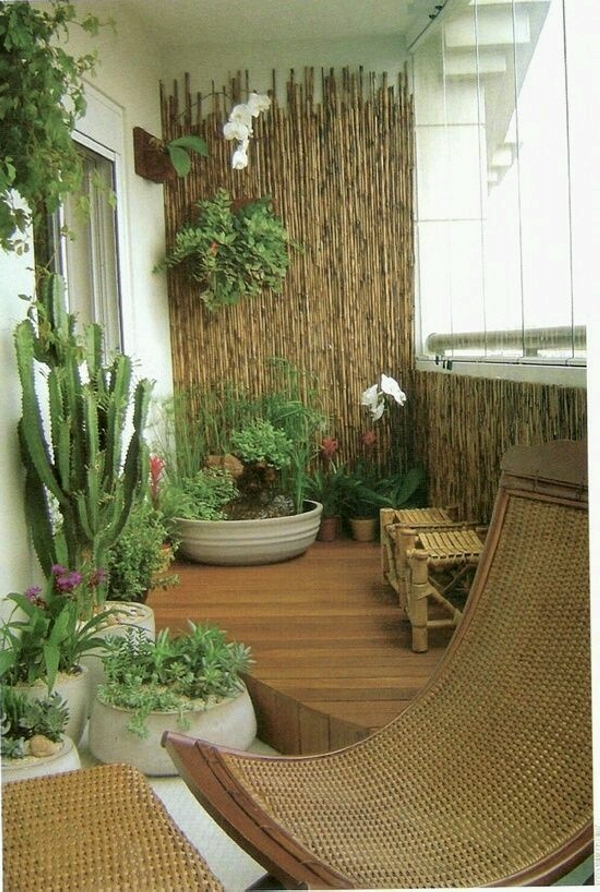 balcony decor garden