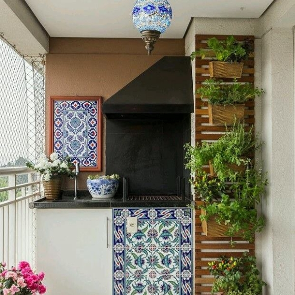 balcony decor plans