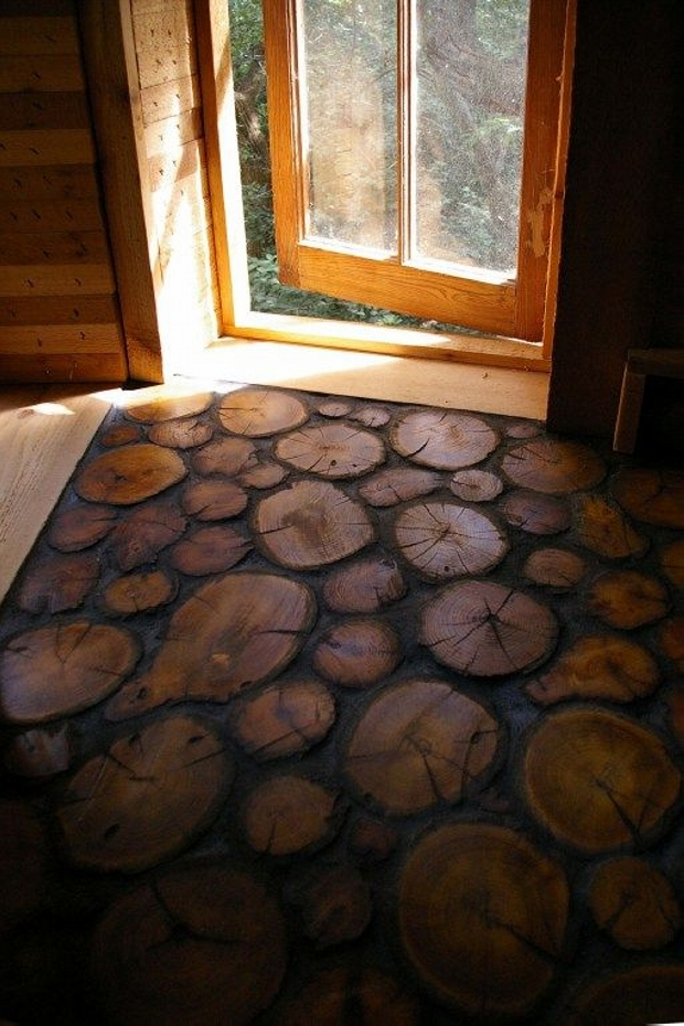 cordwood uses for flooring