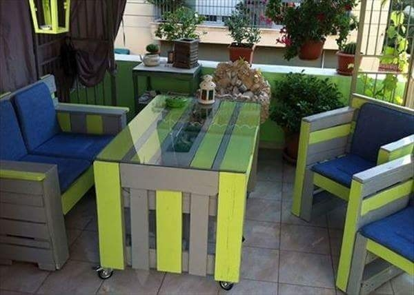 pallet lounge furniture