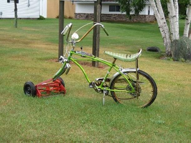Bike Mower Ideas