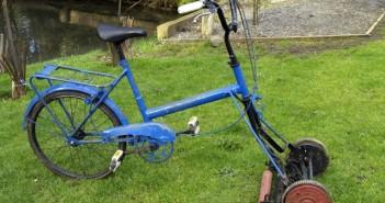 Creative-Bike-Lawn-Mover