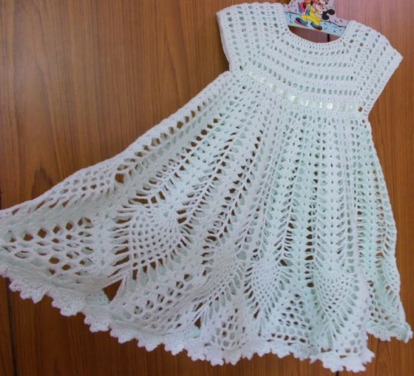 Crochet Baby Dress Designs