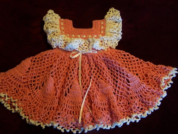 Crochet Baby Dress Pattern Idea