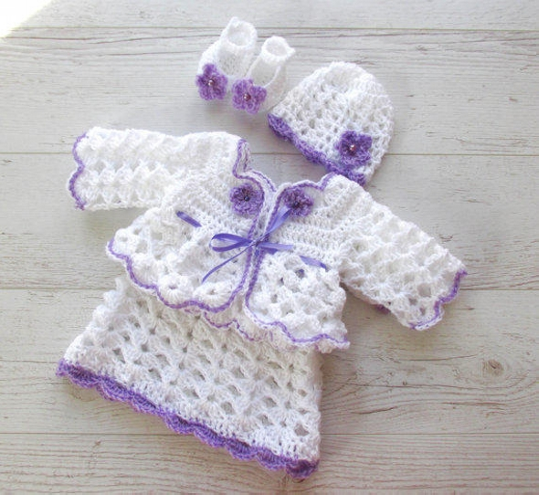 Crochet Baby Dress Pattern Ideas