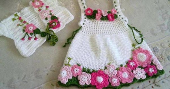 Crochet Baby Dress Pattern