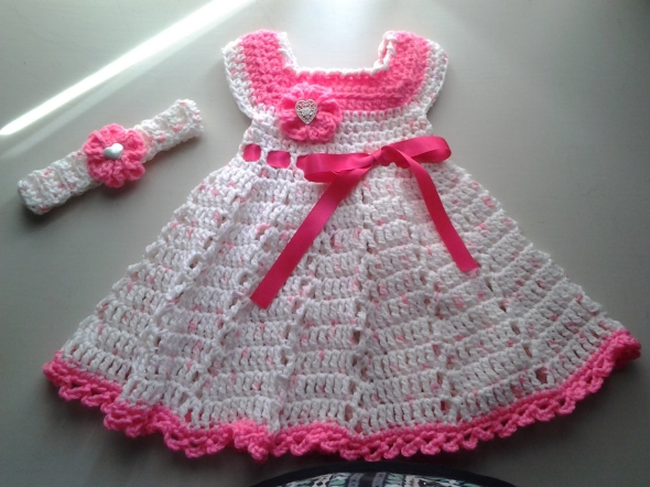 Crochet Baby Dress Patterns for Free | Upcycle Art