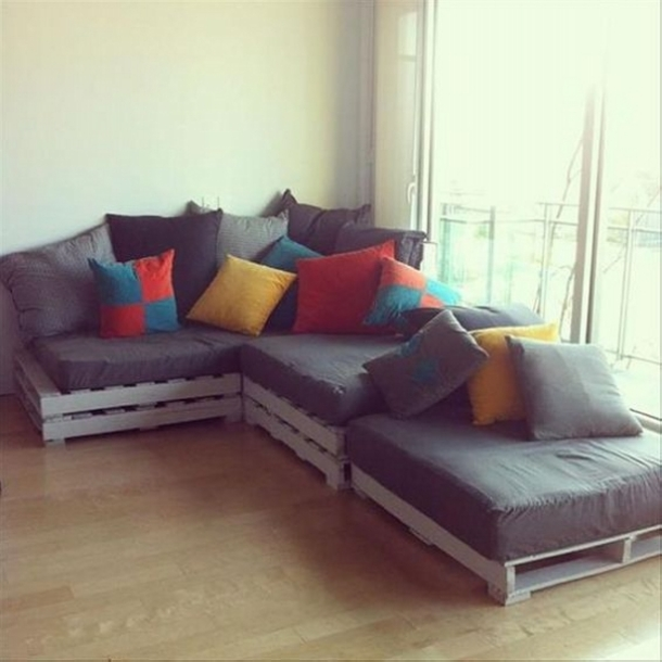 Cute Pallet Couch
