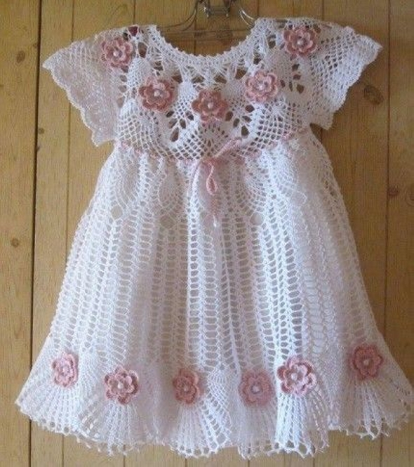 Ideas for Crochet Baby Dress