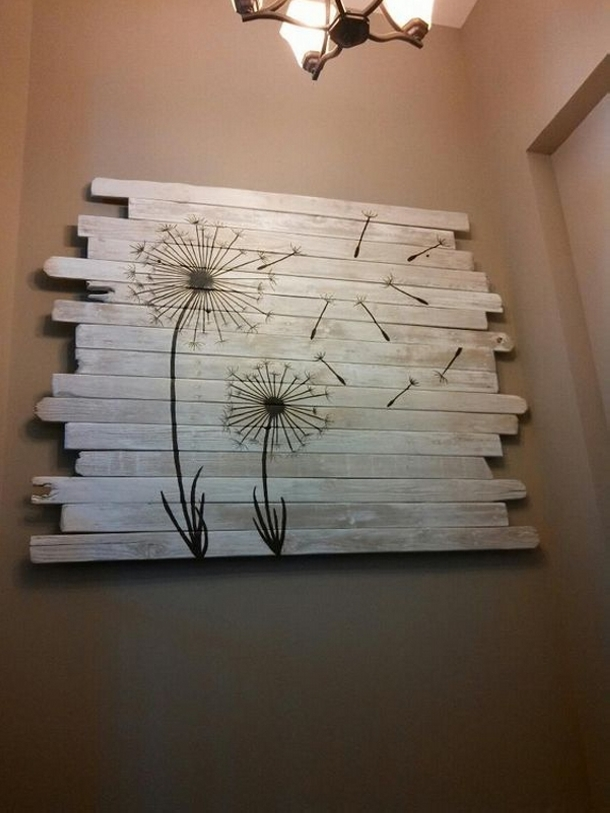 Pallet wood recycling plan ideas upcycle art for Wood plank art ideas