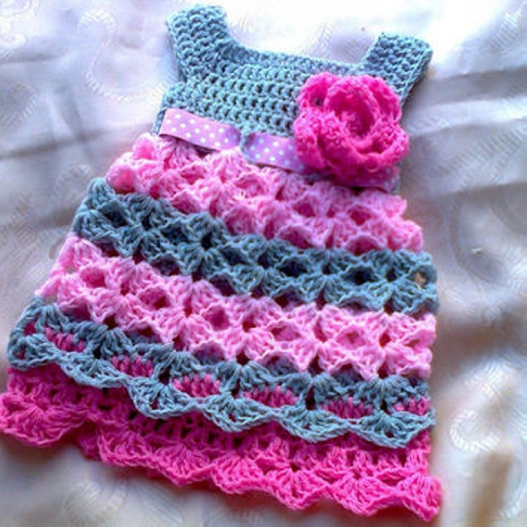 Patterns for Crochet Baby Dresses