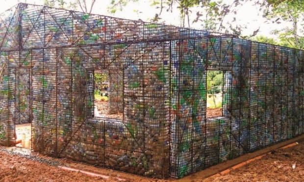 Recycled Pet Bottles Greenhouse