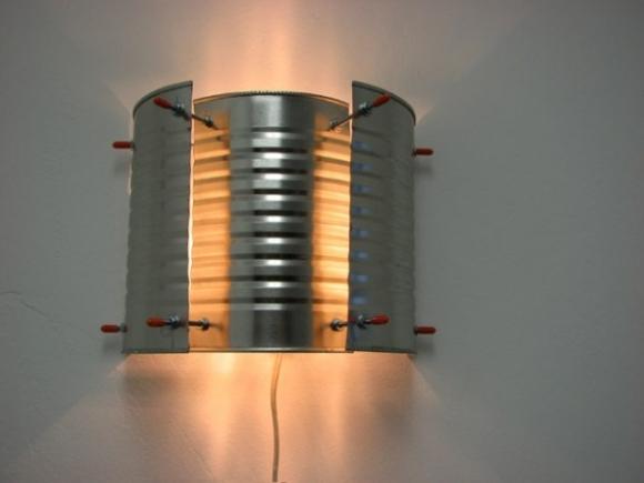 Repurposed Tin Can Lanterns