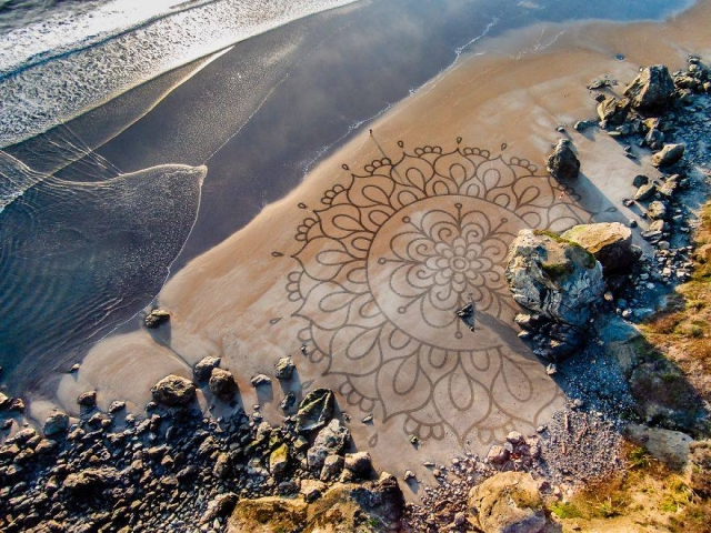 Sand Sculpture Art