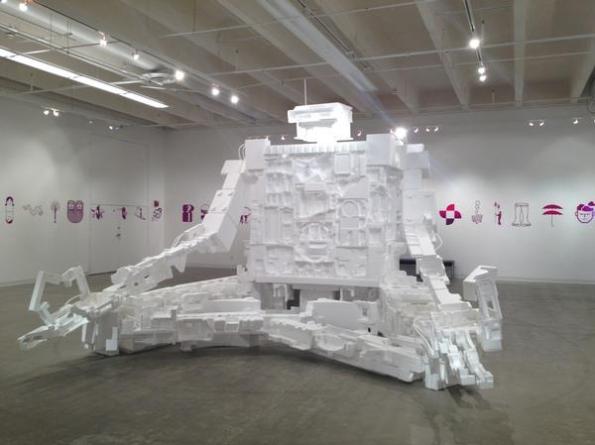 Styrofoam-Robot