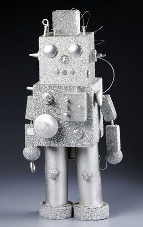 Styrofoam robot crafts