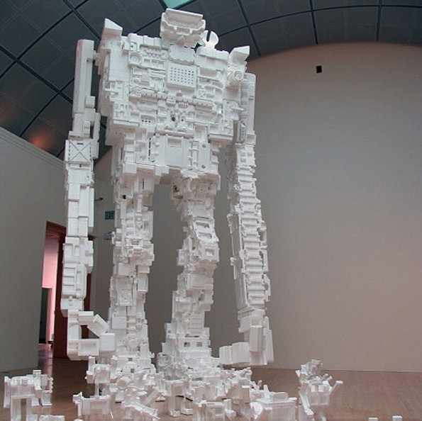 Styrofoam sculptures crafts