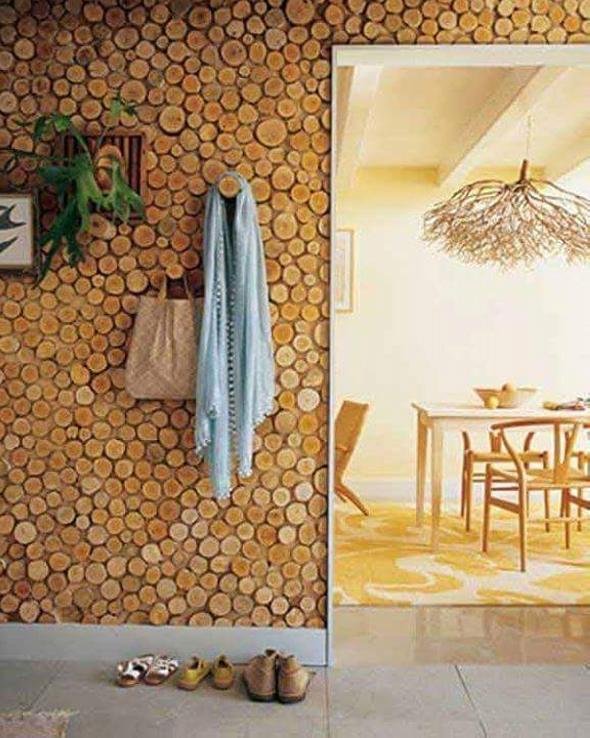 cordwood wall hangers