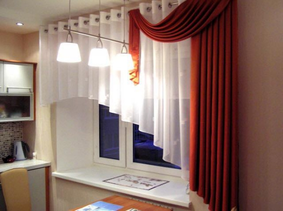 decorated curtain design