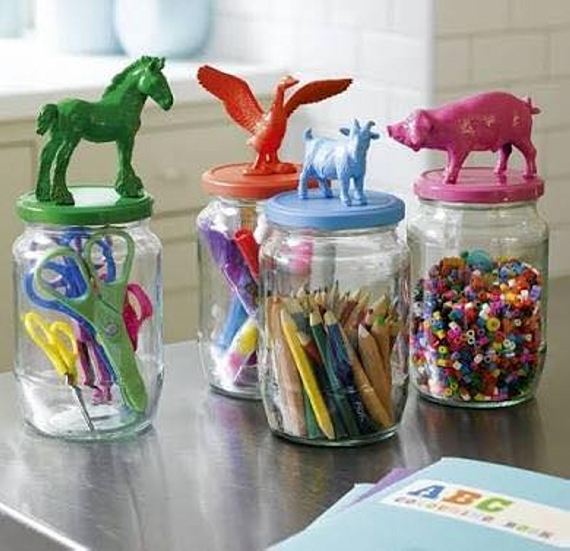 glass jars crafts for kids