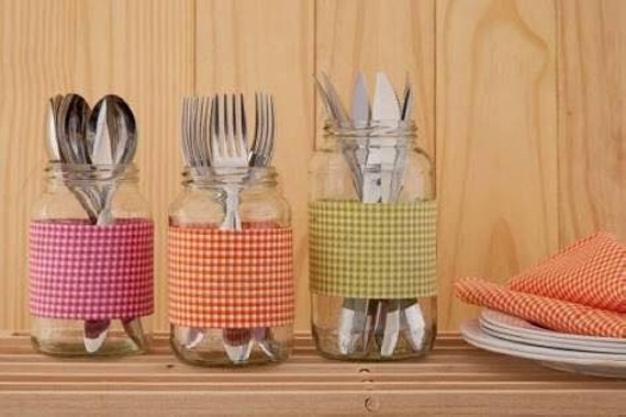 glass jars for kitchen uses