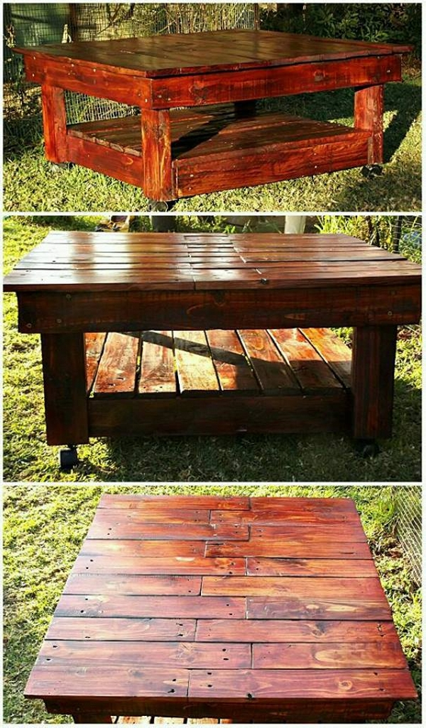 pallet created table