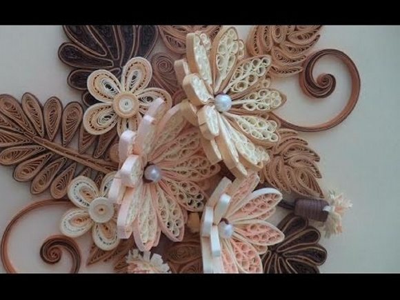 Paper quilling art ideas upcycle art for Quilling paper art