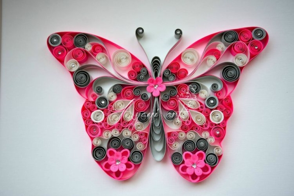 quilling art butterfly