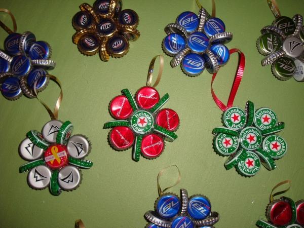 Bottle Caps Clusters