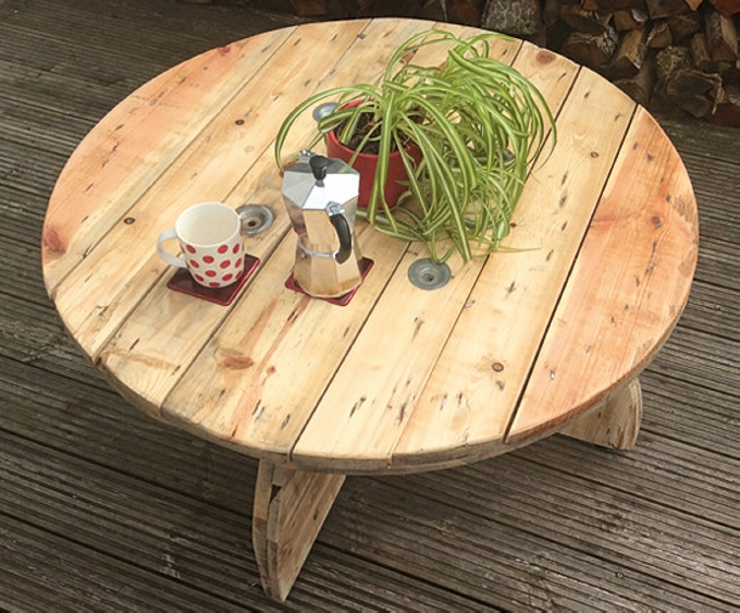 Cable Spool Table Ideas