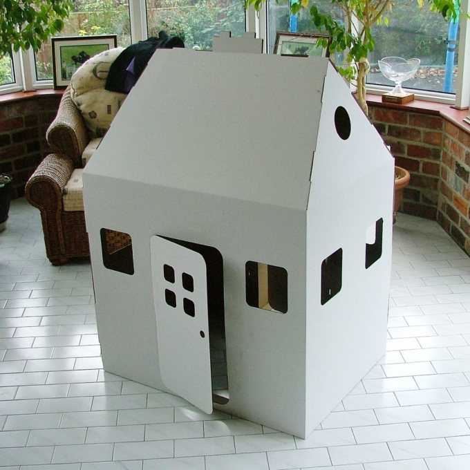 Cardboard Kids Toy House