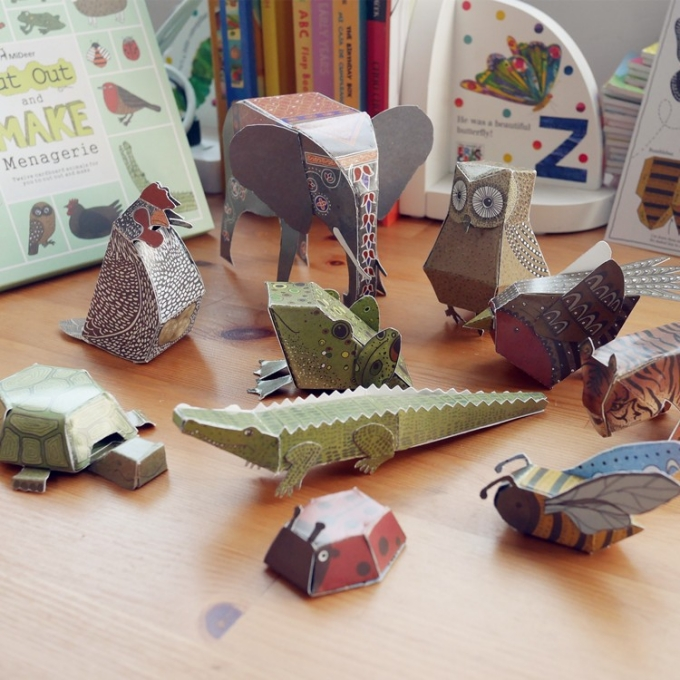 Cardboard Kids Toy Ideas
